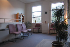 Photo of IPP Ireland waiting room